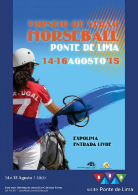 PONTE DE LIMA: IBERIAN TOURNAMENT SUMMER HORSEBALL IT TAKES PLACE IN THE END-OF-WEEK