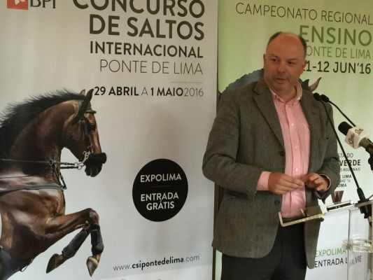PONTE DE LIMA WANTS TO RACECOURSE BETTING 'ONLINE'PARA REINFORCE AND INTERNATIONAL EQUESTRIAN DESTINATION