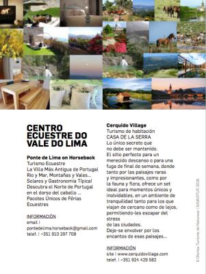 CENTRO EQUESTRE VALE DO LIMA IN TOURISM OFFERS 2016